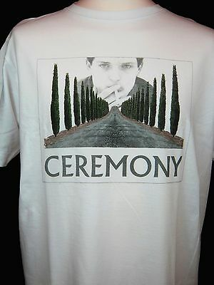 New Order Inspired T-Shirt Ceremony Joy Division Ian Curtis Screen Printed