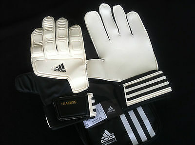 TOP TORWARTHANDSCHUHE LATEX ADIDAS TRAINING HANDSCHUHE KEEPER Gr. 8 9 10 11