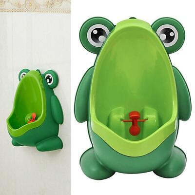 Baby Boy Frog Cartoon Wall-mounted Toilet Standing Urinal Sanitary Potty EH7E