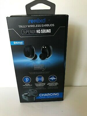 dce59a79e62 NIB ReTrak Remixd Truly Wireless Bluetooth Earbuds with Charging Case