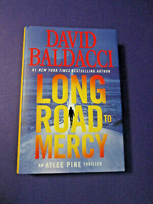 Long Road To Mercy SIGNED by David Baldacci 2018 1st Edition/1st Print HCDJ