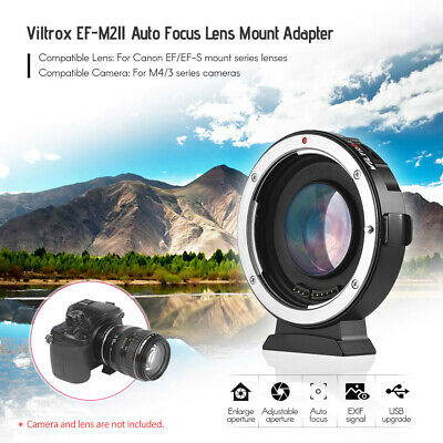 Viltrox EF-M2II Auto Focus Lens Adapter for Canon EOS EF Lens to MFT M 4/3 V6A8