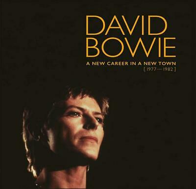 A New Career In A New Town 1977-1982 David Bowie 11 CD Box Set Sealed New