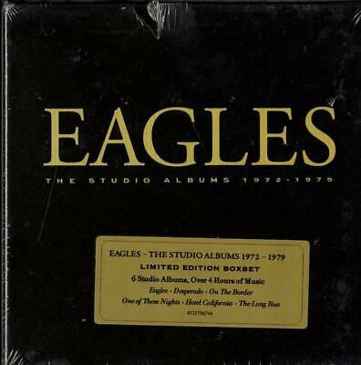 The Eagles The Studio Albums 1972-1979 6 CD Box Set Factory Sealed NEW
