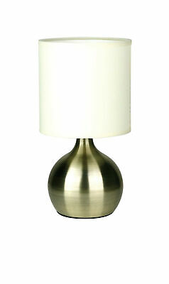 NEW Lotti Touch Lamp in Antique Brass - Oriel,Lamps