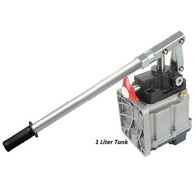 25ccm Hand Pump with 1L Tank, Hydraulic Pneumatic Handpump Pumps