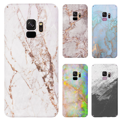 Marble Phone Case For Samsung Galaxy S10 Plus S10E S9 S8 Shockproof Hard Cover