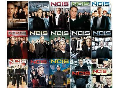 NCIS Complete Series All Seasons 1-15 DVD Set Collection Episodes TV Show Crimes