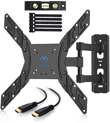 TV Wall Mount Bracket Full Motion Swivel for Most 23-55 inch LED, LCD, OLED, up