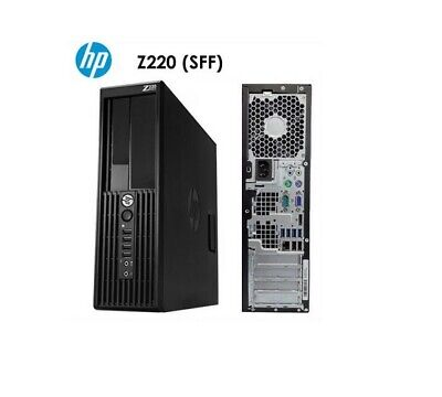 HP Z220 (SFF), i7-3770 (3.4 GHz), 16GB, 1TB, QUAD 600, DVDRW, NO OS