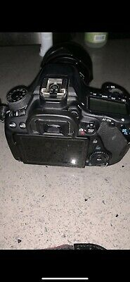 Canon EOS 80D 24.2MP Digital SLR Camera - Black
