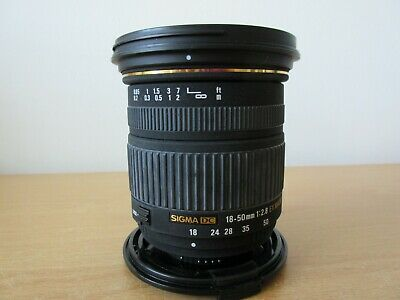 Sigma DC 18-50mm 1:2.8 Ex Macro Camera Lens With Canon Mount
