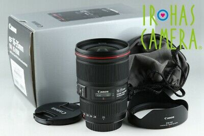 Canon EF 16-35mm F/4 L IS USM Lens With Box #21287