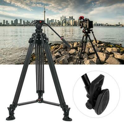 VILTROX VX-18M Tripods Professional Heavy Duty Video Camcorder With Fluid Drag