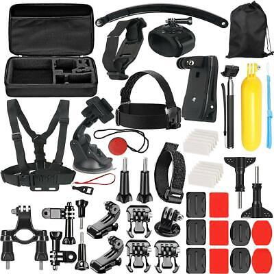 49 in 1 Action Camera Waterproof Case Strap Kit for GoPro Hero 6 5 4 3+ 3 2 NIGH