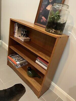 1960's Mid Century Modern FULL Teak Bookcase CAN DELIVER