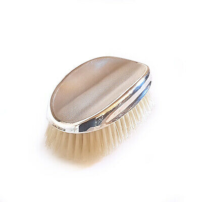 Vintage Solid Silver Vanity Grooming/clothes Brush