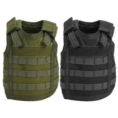 Military Tactics Beer Water Bottle Mini Molle Vest Carrier Holder Cover Outdoor