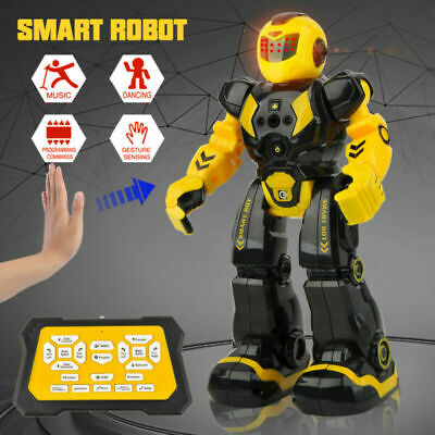 RC Smart Robot AI Toys Gesture Sensing Actions Remote Control Robots Kids Gifts