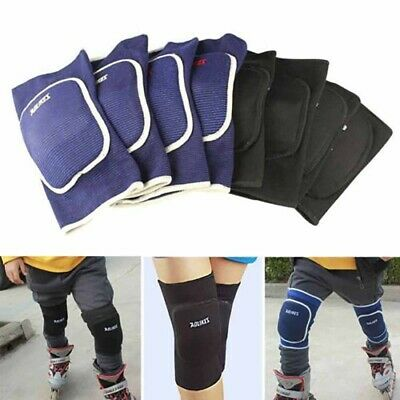 2x Knee Pad Crashproof Antislip Basketball Dance Sleeve Protector GUARD Gear