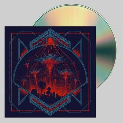 Hollywood Burns - Invaders CD Blood Music New Sealed Electronica Synthwave
