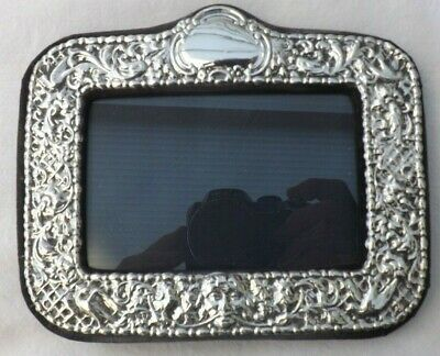 Solid Silver Photo Photograph Frame Silver 17Cms By 14Cms