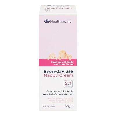 Healthpoint Everyday Use Nappy Cream 2-in-1 Formula Soothes & Protects 50g x 12