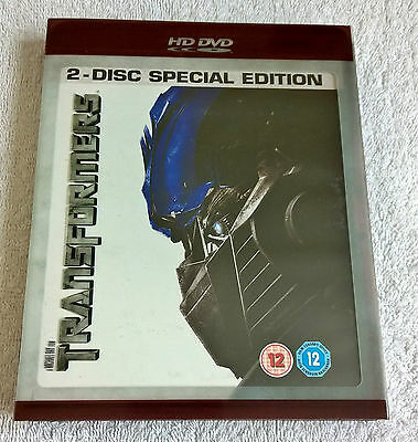 Transformers - 2-Disc Special Edition (2007) -- HD DVD - UK