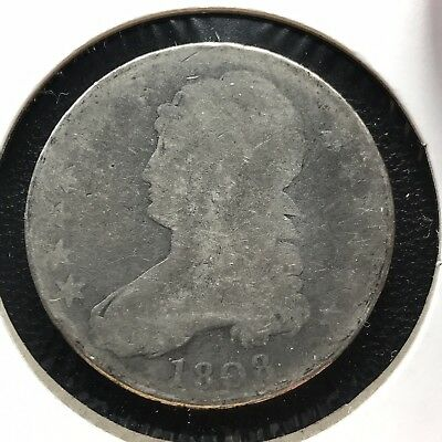 1808 Capped Bust Half Dollar  50c Circulated #11837