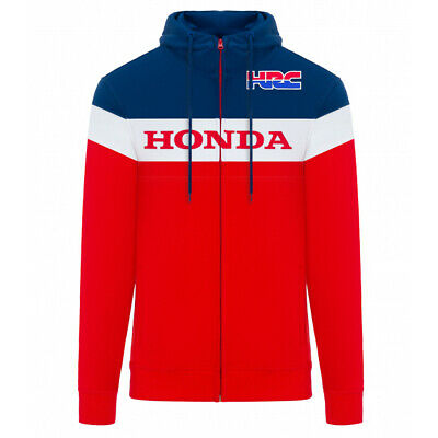 2019 Honda Racing HRC MotoGP Mens Hoodie Red Hoody Hooded Sweatshirt Sizes S-XXL