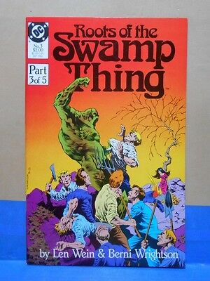 ROOTS OF THE SWAMP THING #3 of 5 1986 DC 9.0 VF/NM Uncertifed REPRINTS ORIGINAL