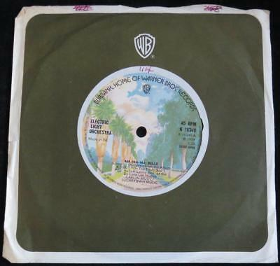 "ELECTRIC LIGHT ORCHESTRA - Ma-Ma-Ma Belle - 1973 UK Warner Bros 7"" - Vinyl EX"