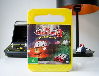 The Little Cars 3: Fast And Curious - Dvd | Like New & Sealed