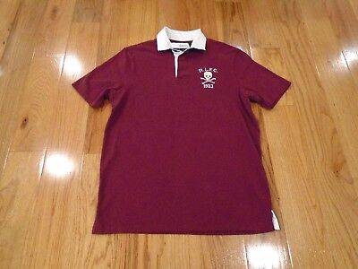 NWT Polo Ralph Lauren Mens Classic Fit Medium (M) Polo Shirt - RLFC Skull Logo