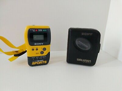 Sony Walkman EX110 and FM/AM Sports Walkman, No Battery Covers