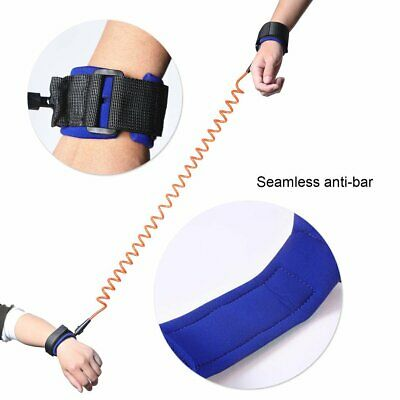 Kids Safety Leash Anti Lost Wrist Strap Baby Walk Child Toddler Link Harness TO
