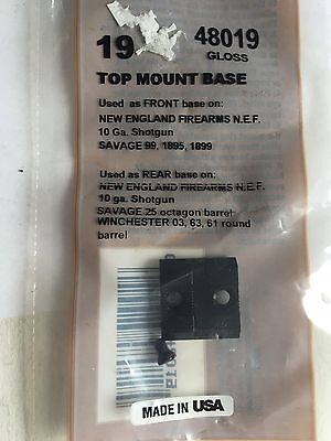 Weaver 48019 Top-Mount Scope Base #19 Gloss for Winchester 03 63 61 Savage 25 #3