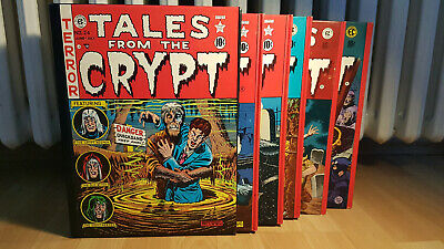 The Complete Tales from the Crypt 1979 Schuber geb 5 Bände EC Library Cochran