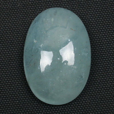 Oval Cabochon 17.5 Cts Natural AQUAMARINE Gemstone 21x15 mm Best Seller s-20571