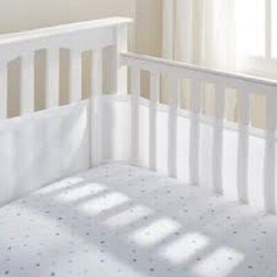 Breathable Cot / Cotbed Mesh Liner NEW