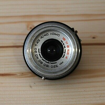 Soviet USSR Lens T-43 Triplet LOMO From SMENA-8M Optical for optical constructio