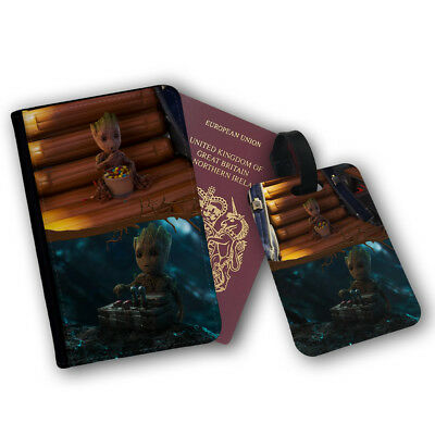 Baby Groot Guardians Of The Galaxy Sweets Travel Protection Flip Cover Case