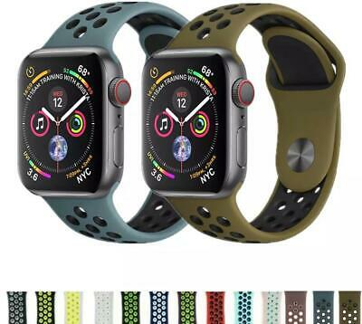 Correa Compatible Con Apple Watch Series 1/2/3/4 Pulsera Silicona  38-40 42-44mm