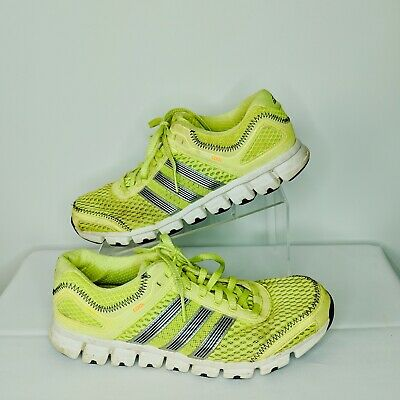 outlet store 330ca c2827 ADIDAS CLIMACOOL REVENT G56555 Neon Green Mens 11 Running Shoes