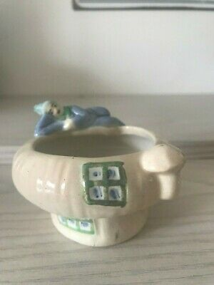 LUCKY CHARM PIXIE VINTAGE TRINKET DISH by WEETMAN