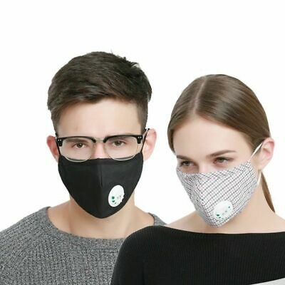 Anti Allergy Mask Dust Respirator Washable Masks Pollution Asthma Travel Muffle