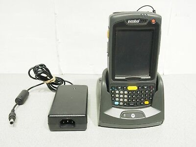 SYMBOL MC7090 Pocket PC PK0DJQFA7WR Scanner WiFi Bluetooth Tested Working