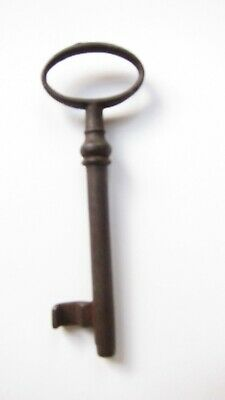 """Vintage Antique French Key  3 1/2""""  Very Nice Patina GC"""