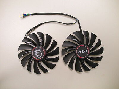 MSI TWIN FROZR V Series Video Card Cooling Fan Replacement