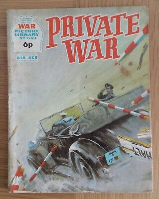 WAR PICTURE LIBRARY  No.649 VERY RARE. by FLEETWAY LIBRARY 1971